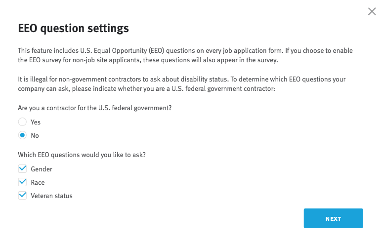 How Do I Enable Eeo Questions And Export Candidate Responses
