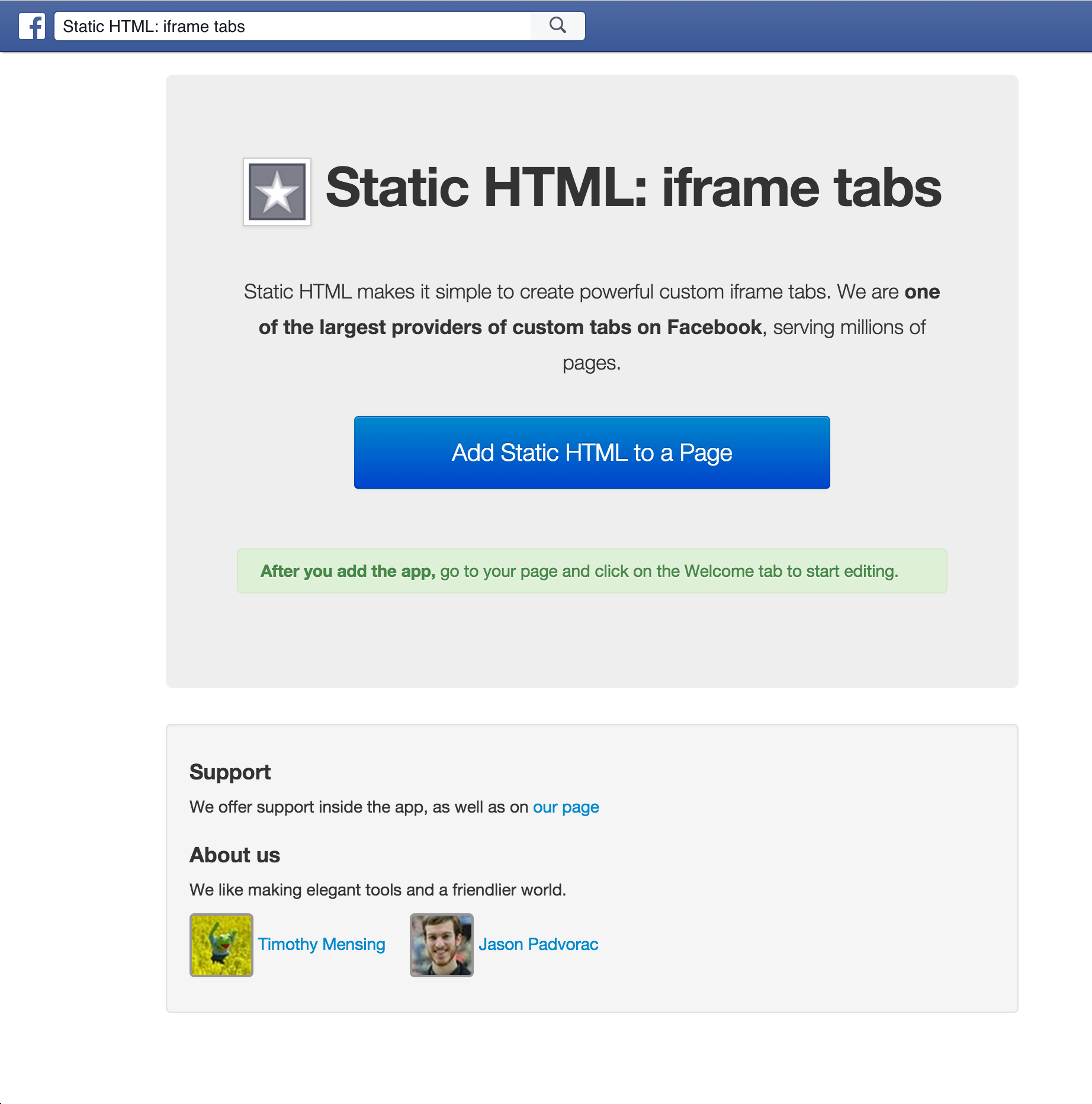 """How to add a """"jobs"""" tab on your Facebook page – Lever Support"""
